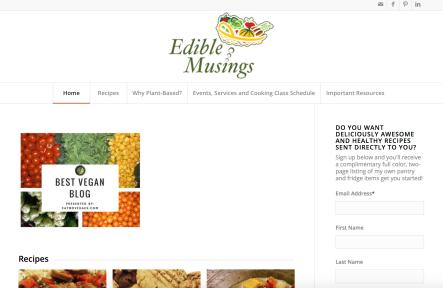 edible musings homepage