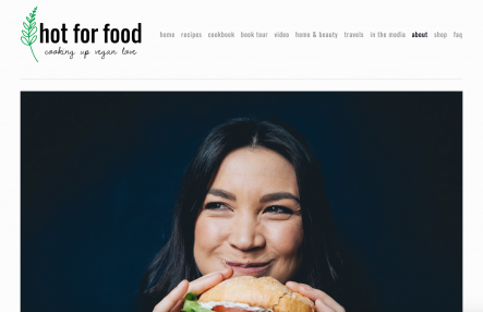 hot for food homepage