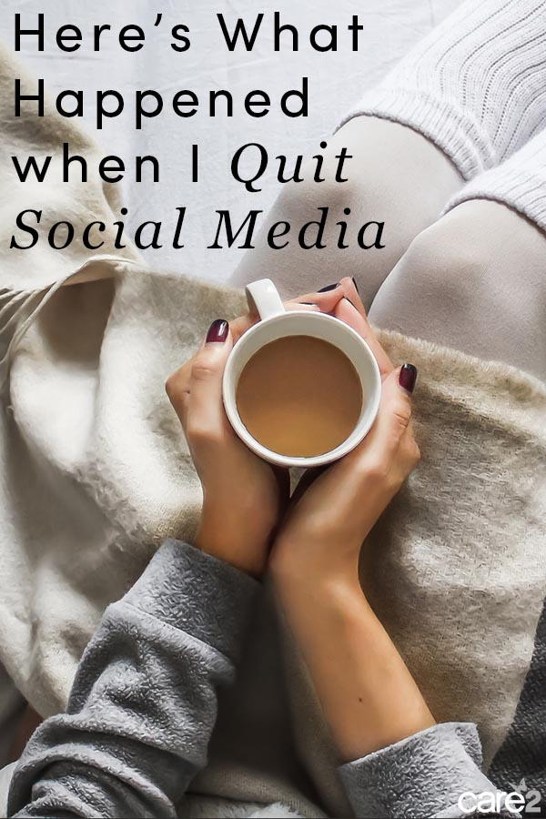 Here's What Happened When I Gave up Social Media