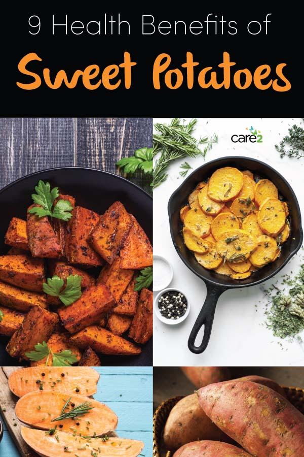 9 Health Benefits of Sweet Potatoes