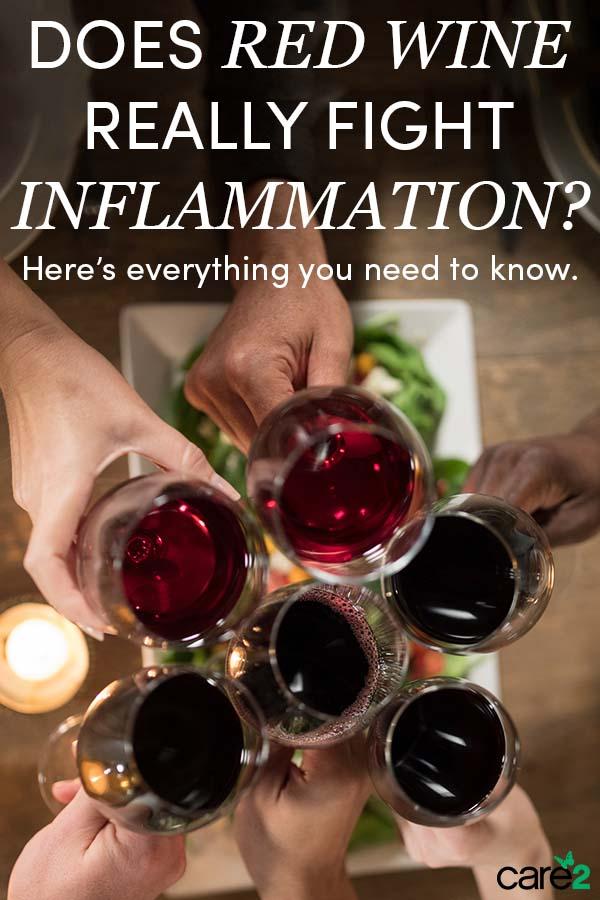 Is Red Wine Anti-Inflammatory?