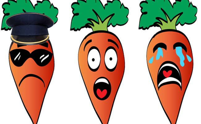 carrot faces