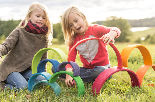 Bella Luna is a Maine-based company who makes unique natural toys and products for children and families.