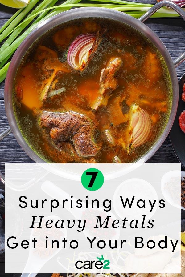 7 Surprising Ways Heavy Metals Get into Your Body