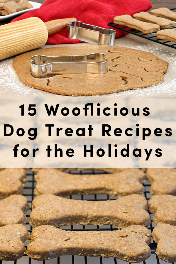 15 Wooflicious Dog Biscuit Recipes for the Holidays