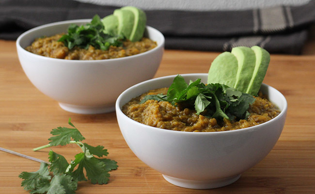 Lentil-Sweet Potato Stew