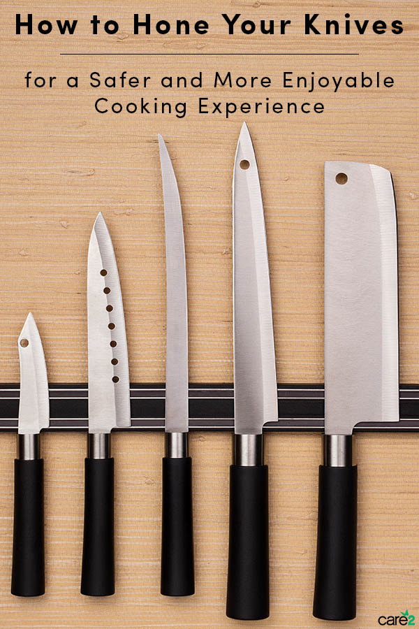 How to Hone Your Knives