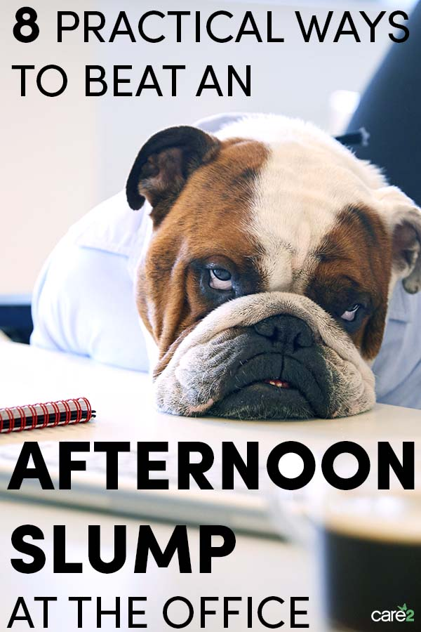 8 Practical Ways to Beat an Afternoon Slump at Work