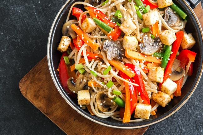 Chap Chae-Style Soba Noodles