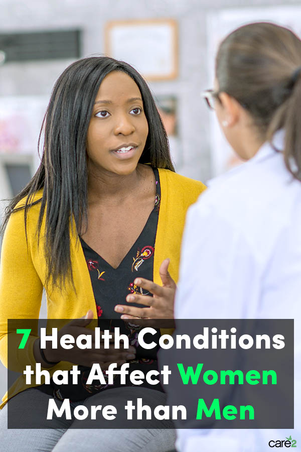 7 Health Conditions that Affect Women More than Men
