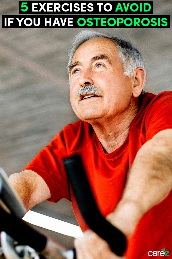 5 Exercises Osteoporosis Patients Should Avoid
