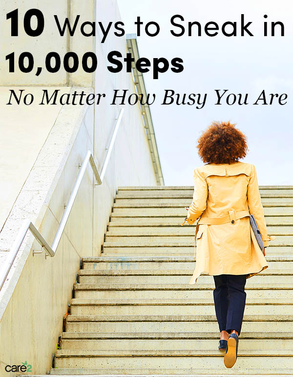10 Ways to Sneak in Your Daily 10k Steps, No Matter How Busy You Are