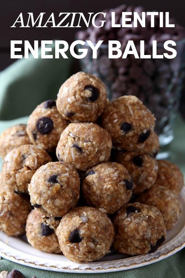 Amazing Lentil Energy Balls
