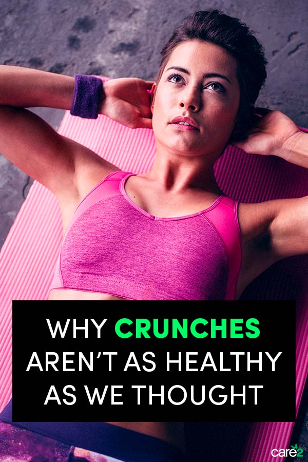 Okay, Are Crunches Actually Bad for Us?