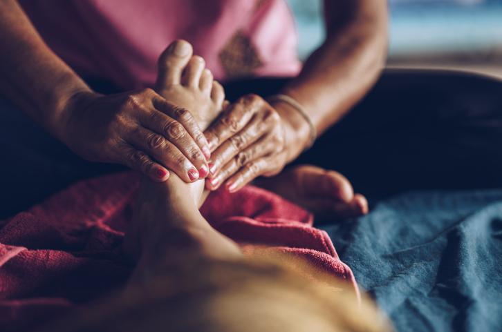Reflexology Thai massage!