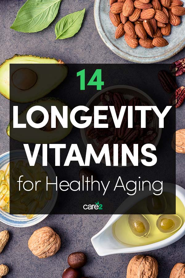 14 'Longevity Vitamins' that Promote Healthy Aging