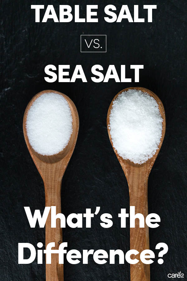 5 Important Differences Between Iodized Salt and Sea Salt