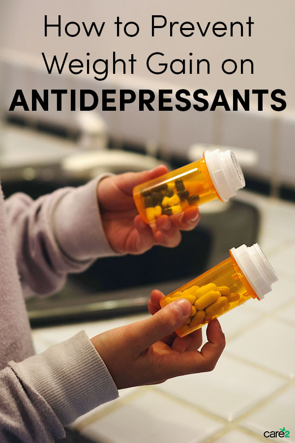 How to Prevent Weight Gain on Antidepressants