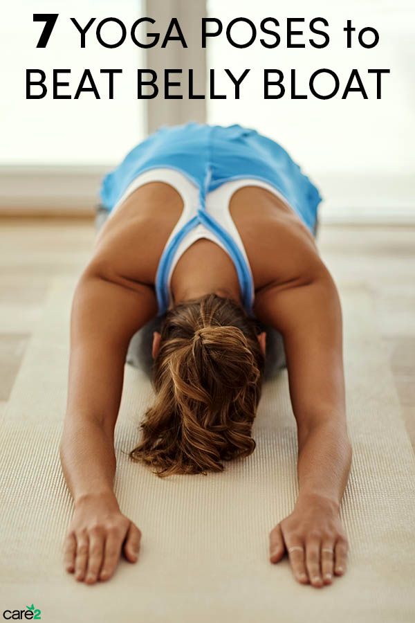7 Yoga Poses to Help You Beat Belly Bloat