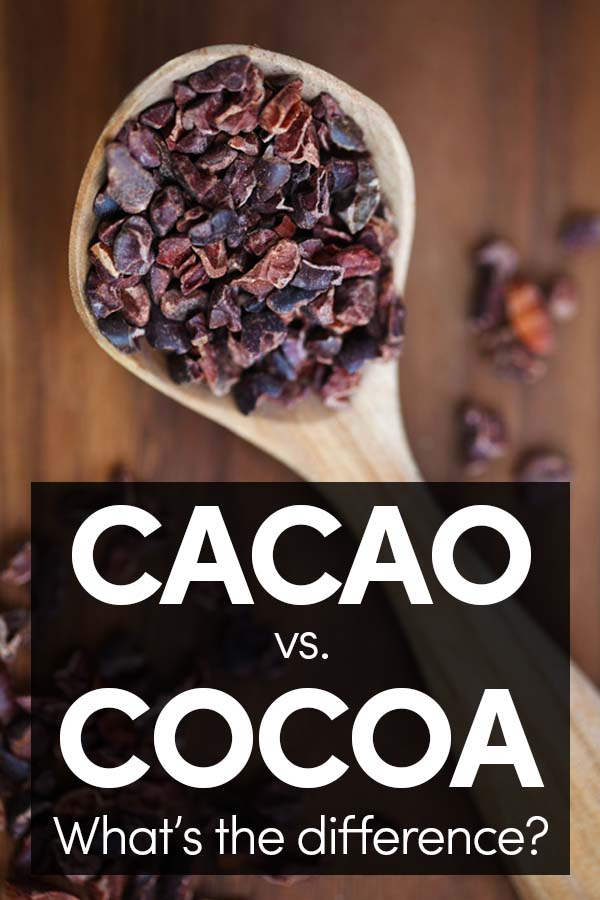 What's the Difference Between Cacao and Cocoa?