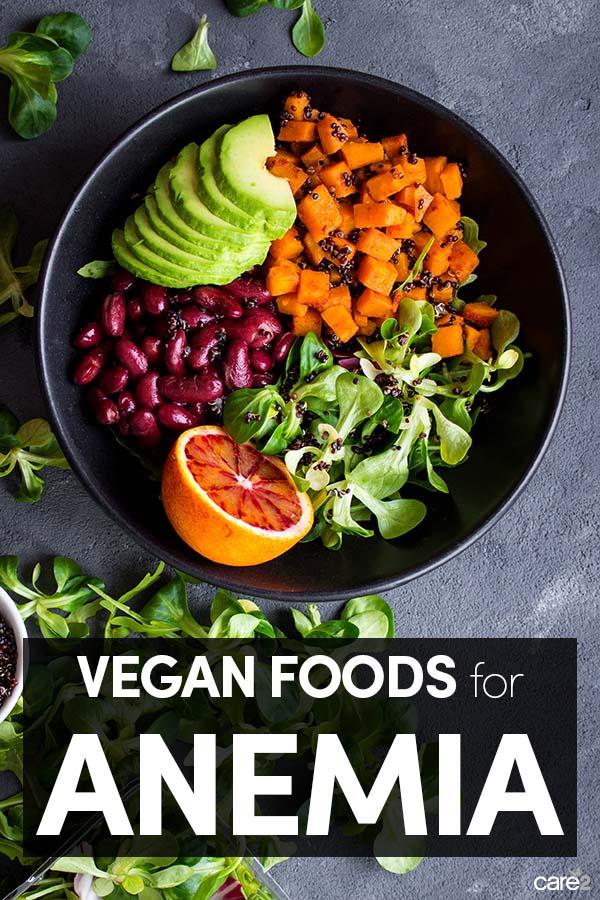 Vegan Foods for Anemia