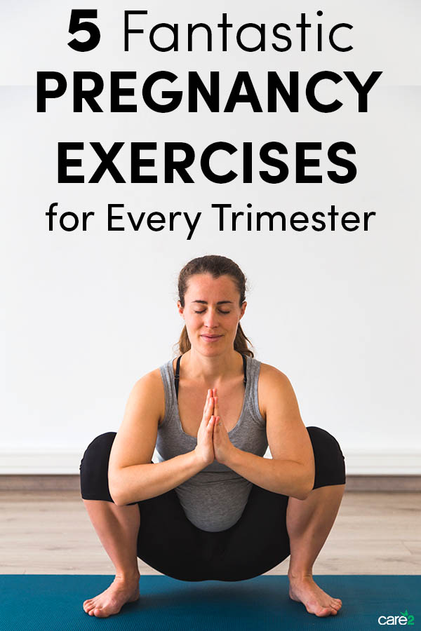 The 5 Fantastic Exercises for Pregnant People in Every Trimester