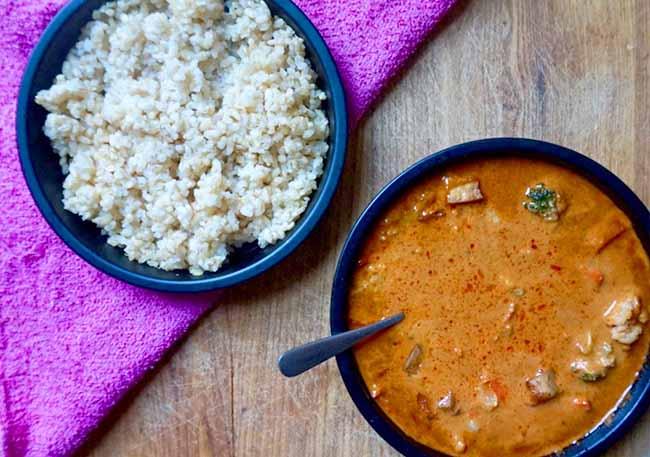 veestro red curry vegan