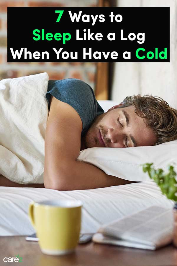 7 Ways to Sleep Like a Log When You Have a Cold