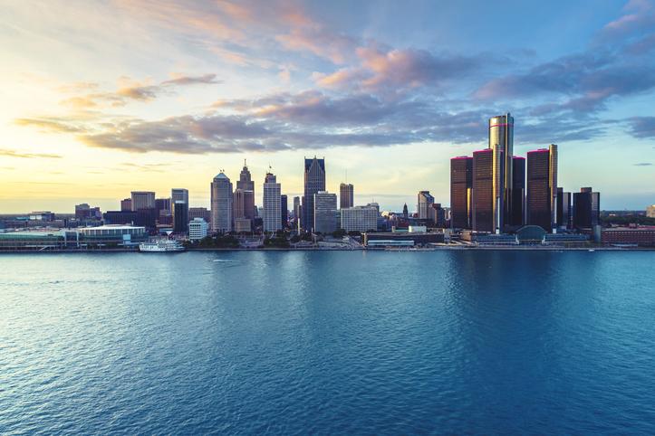 Detroit, Michigan, skyline