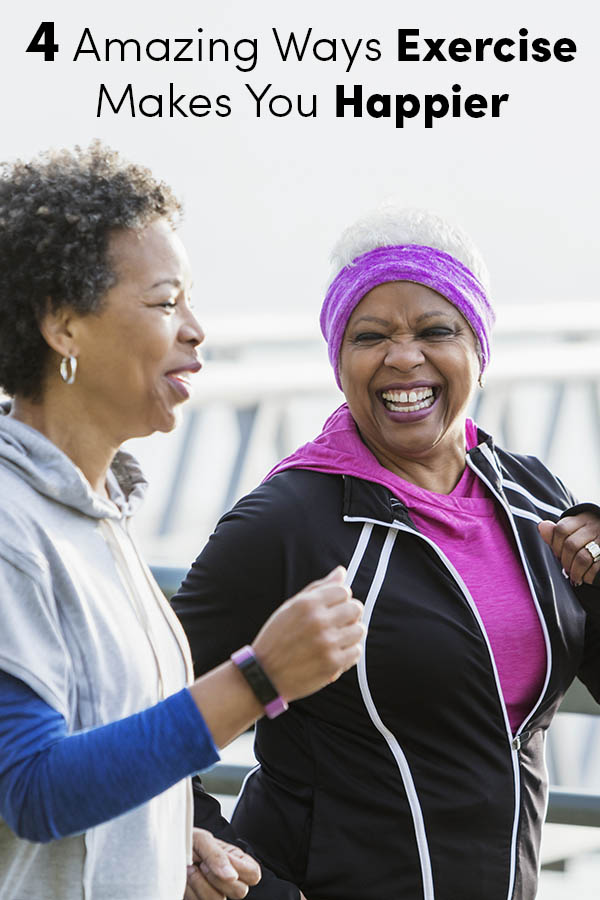 4 Amazing Ways Exercise Makes You Happier