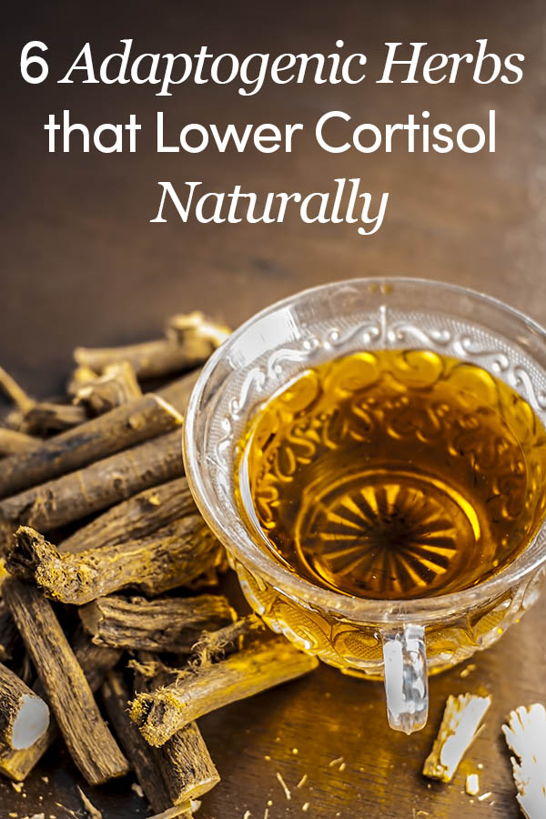 6 Adaptogenic Herbs that Lower Cortisol Naturally