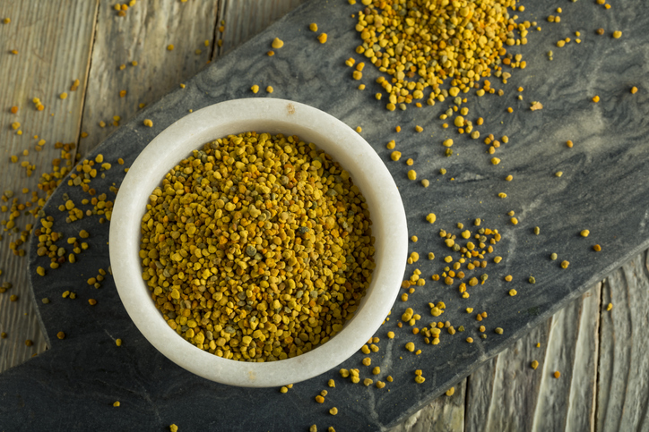 Raw Organic Yellow Bee Pollen