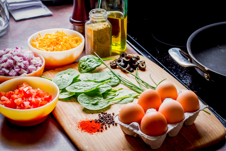 Making the Perfect Low Carb Omelette