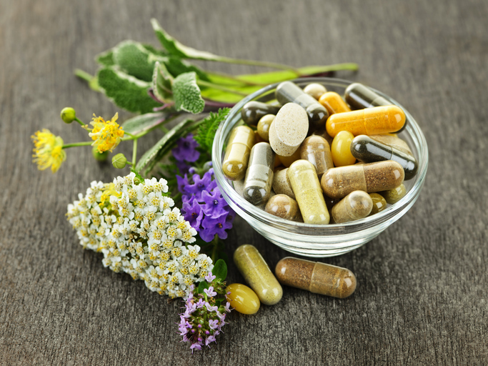 natural herbs and supplements
