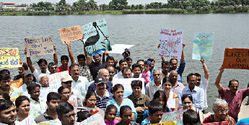 Campaign against Privatisation of Bangalore's Lakes