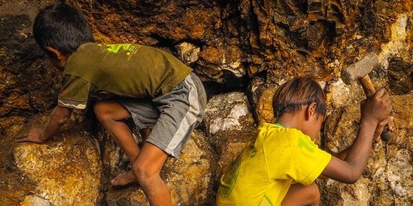Stop poisoning children by putting them to work in gold mines!