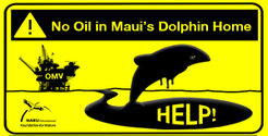 No oil exploration or drilling near last 50 Maui's dolphins
