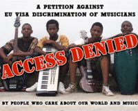 Petition Against EU VISA Discrimination of Musicians