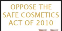 Oppose HR 5786: Safe Cosmetics Act of 2010
