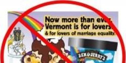 Boycott all Ben and Jerry's products in order to support Marriage