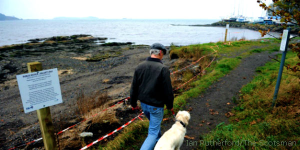 Tell UK MoD to Remove Radioactive Contamination at Scotland Beach