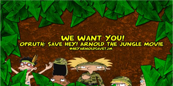 Petition: Opruth: Green-light Hey Arnold The Jungle Movie