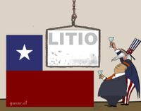 The lithium is owned Chilean - El litio es de propiedad Chilena