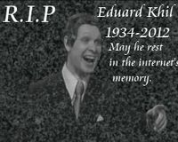 International Trololo (Eduard Khil) day on June 4th
