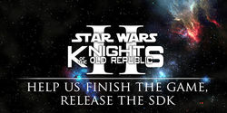 Release the Star Wars: KotOR 1 and 2 source, sdk and development tools.