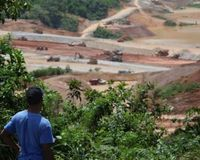 Toxic gold mining in the Caribbean