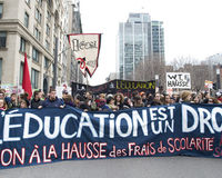 Stop the raise in tuition fees in Quebec!