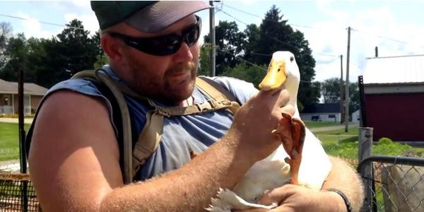 Don't Make Veteran Give Up His Therapy Ducks!