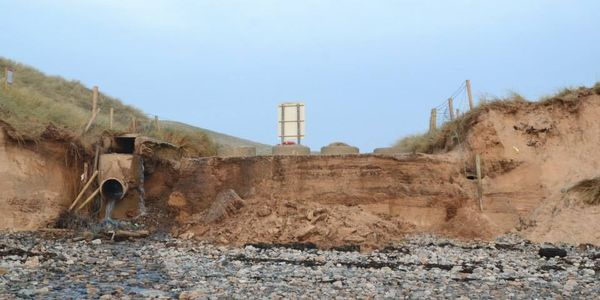 Urge Donegal County Council to Repair Lagg Beach (5 Fingers Beach) Entrance.