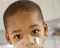 Provide a day of SAFE drinking water for a child